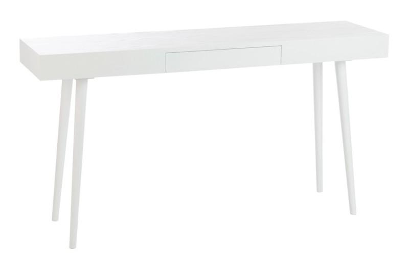 J-Line Sidetable 'Gladys' 150cm, kleur wit