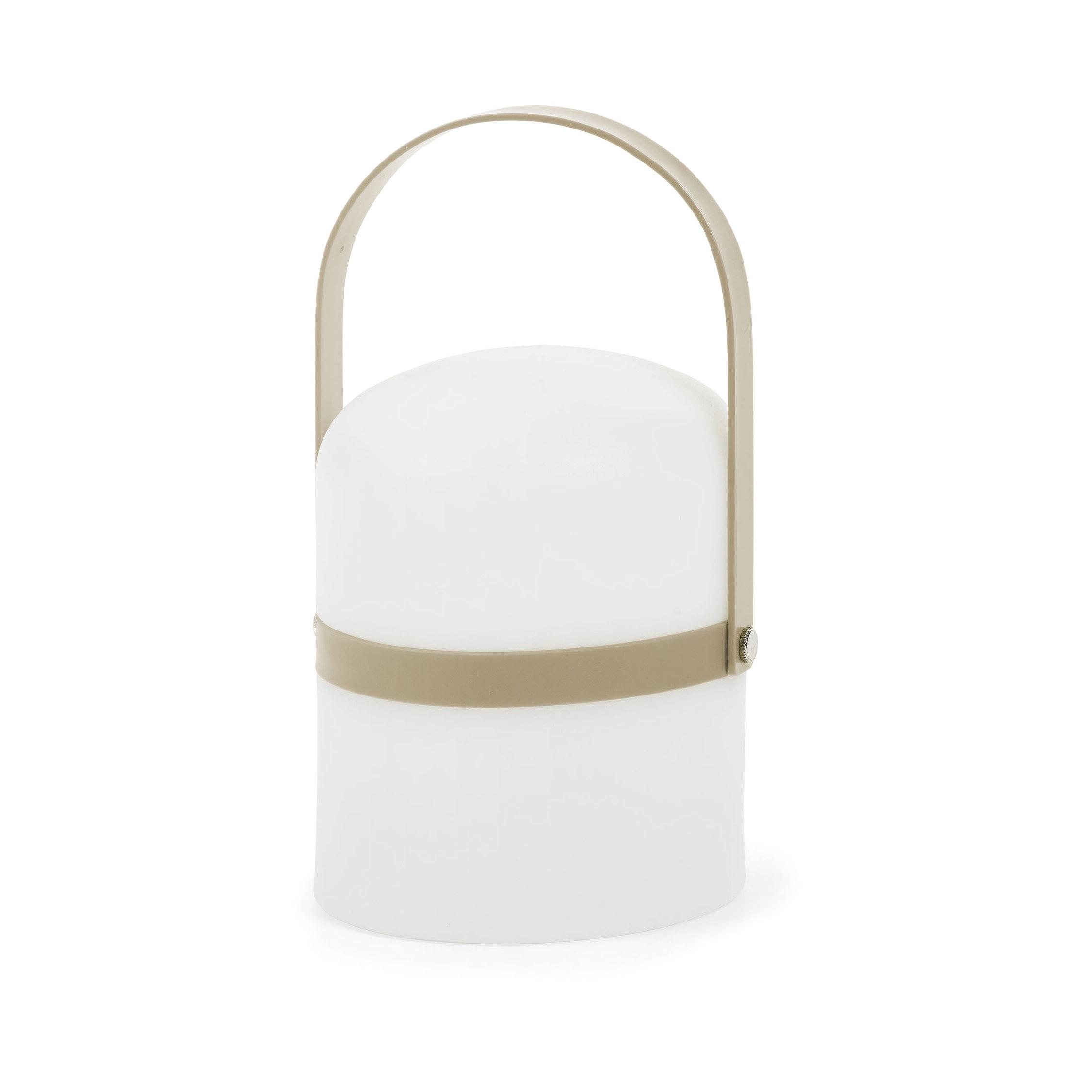 Kave Home Oplaadbare Tafellamp 'Ridley', kleur Bruin korting