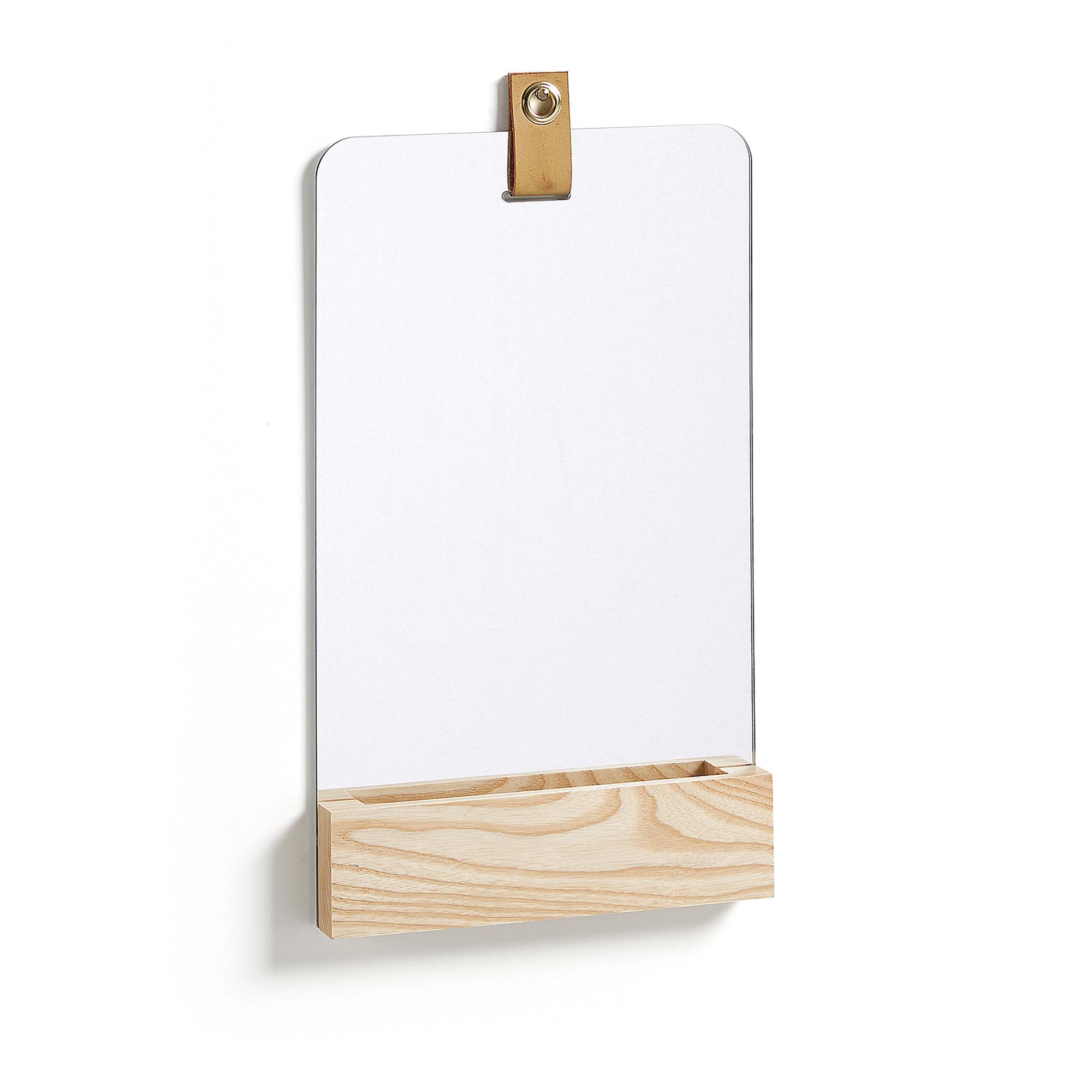 Kave Home Spiegel 'Brant' Recht, 38 x 23cm