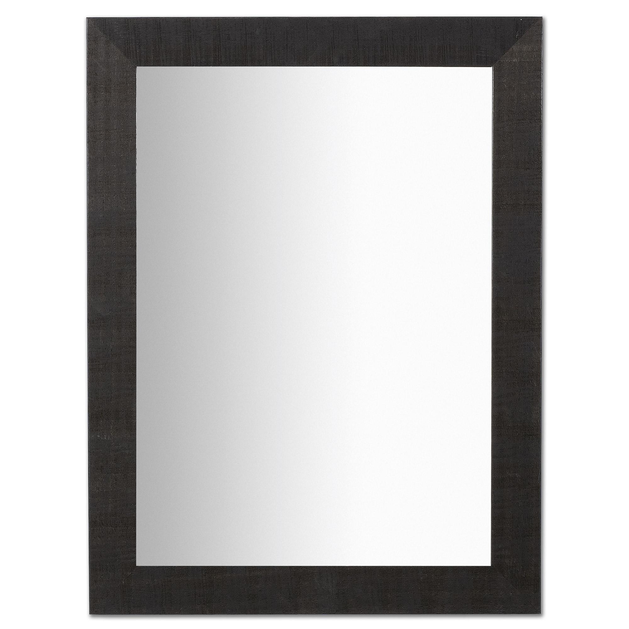 Kave Home Spiegel 'Seven', 82 x 62cm, kleur zwart
