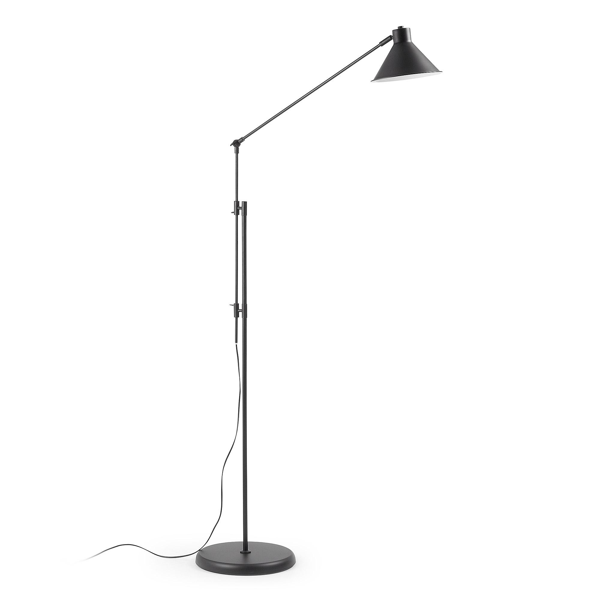 Kave Home vloerlamp 'Dione', kleur zwart