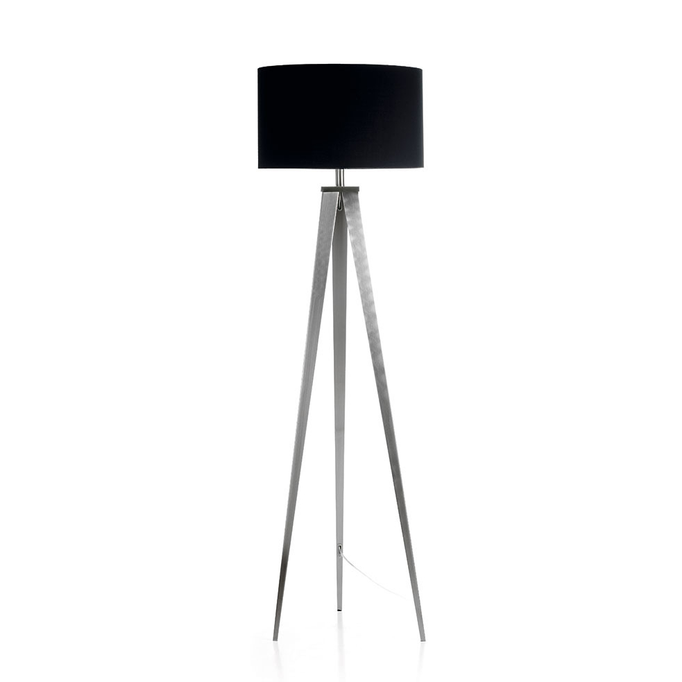 Kave Home Vloerlamp 'Iguazu', kleur zwart