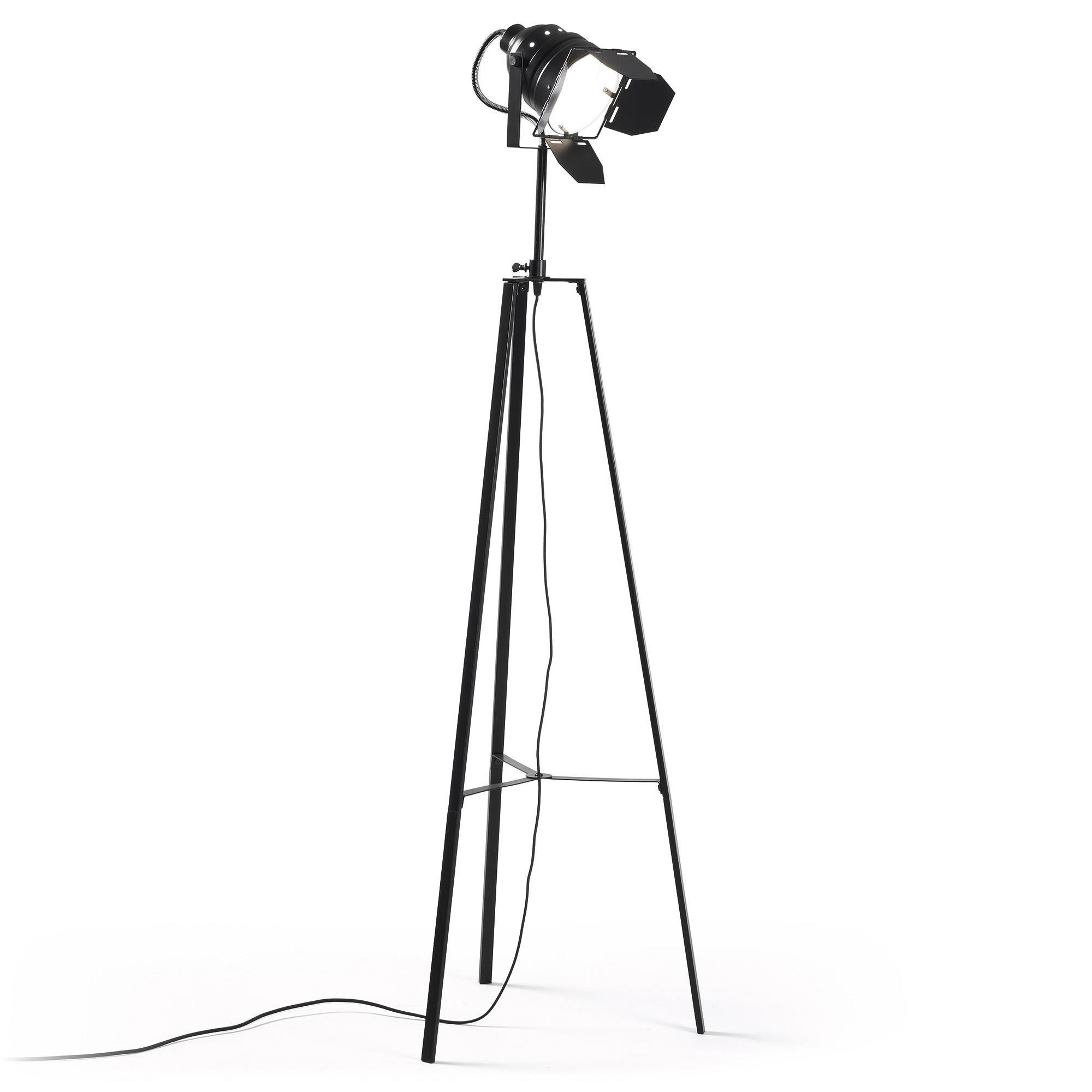 Kave Home Vloerlamp 'Togh', kleur zwart