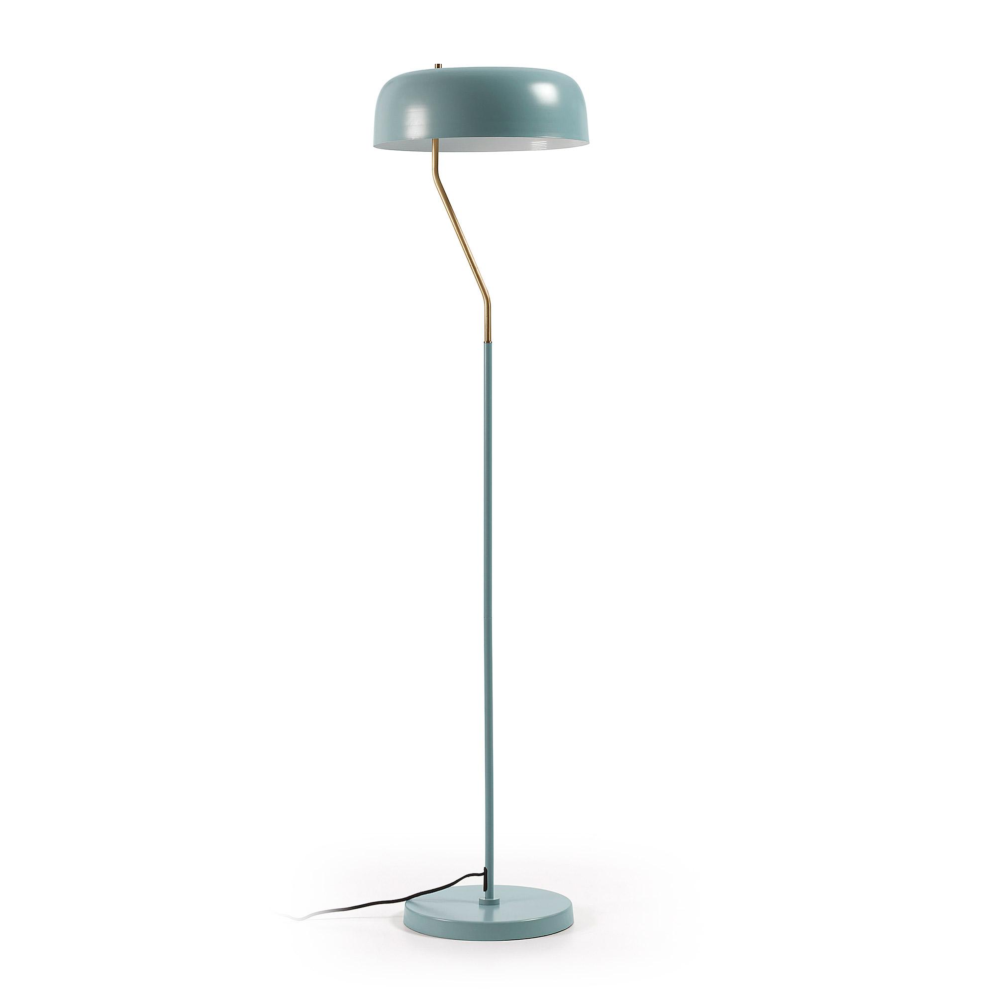 Kave Home Vloerlamp 'Verse', kleur Lichtblauw
