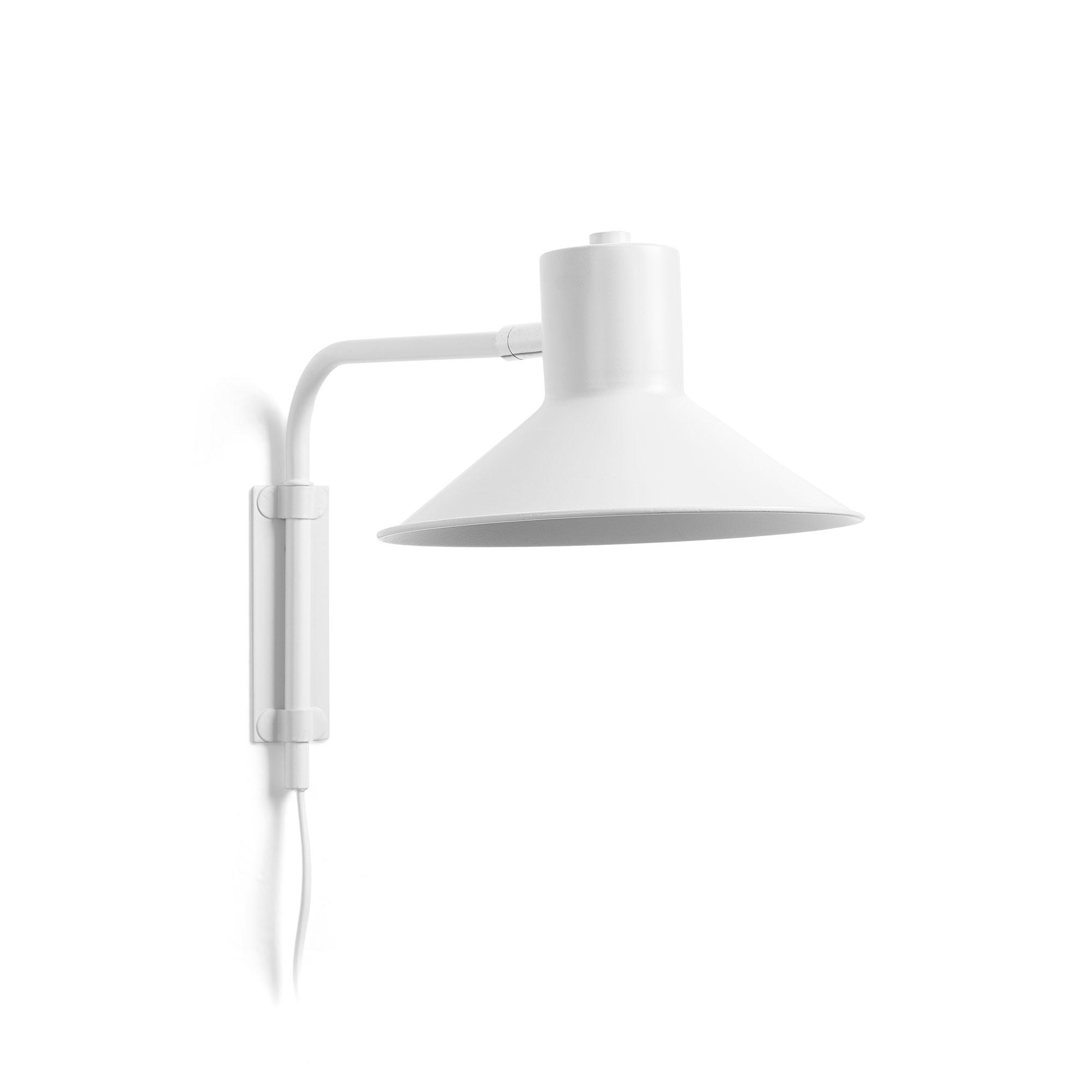 Kave Home Wandlamp 'Aria', kleur Wit