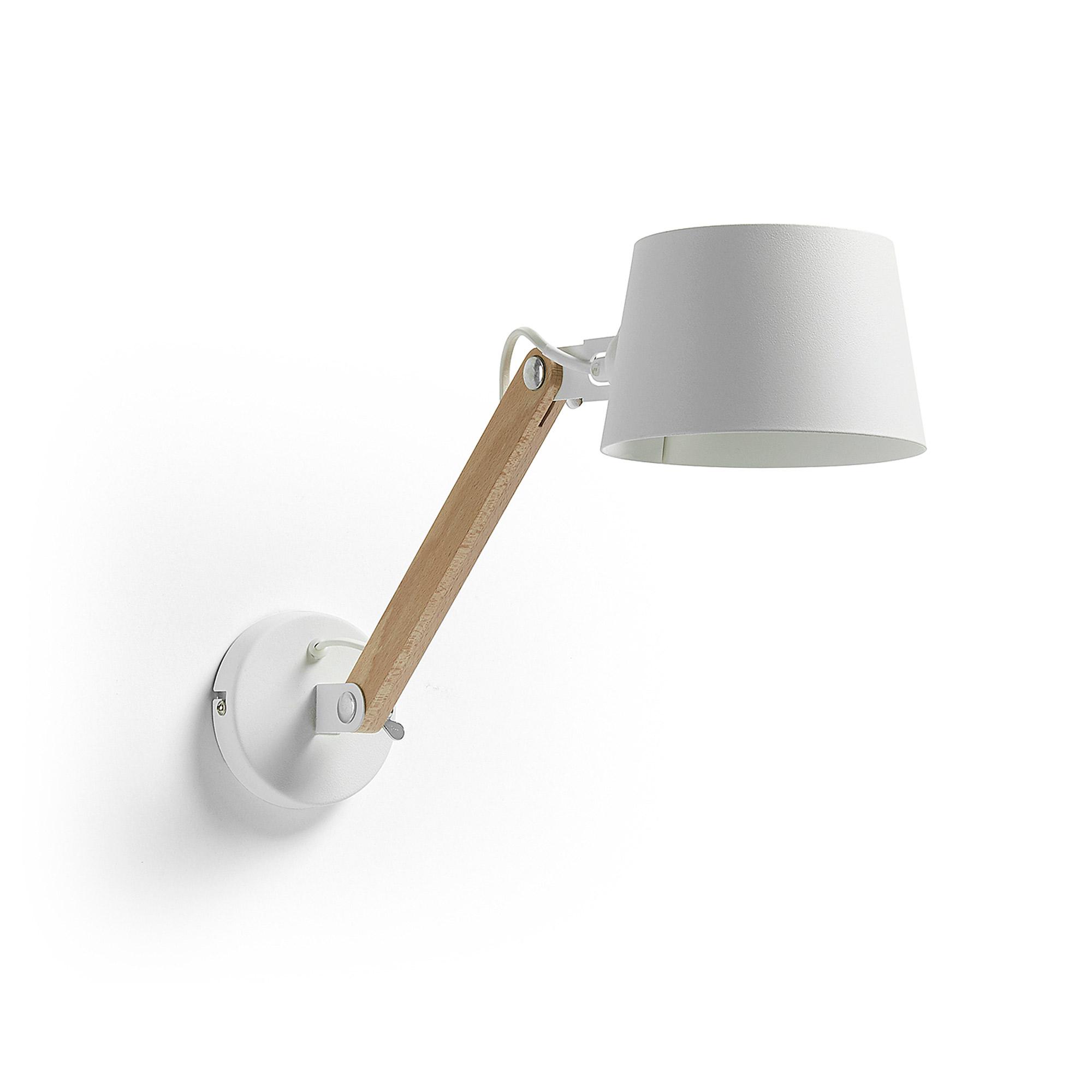 Kave Home Wandlamp 'Muse', kleur Wit