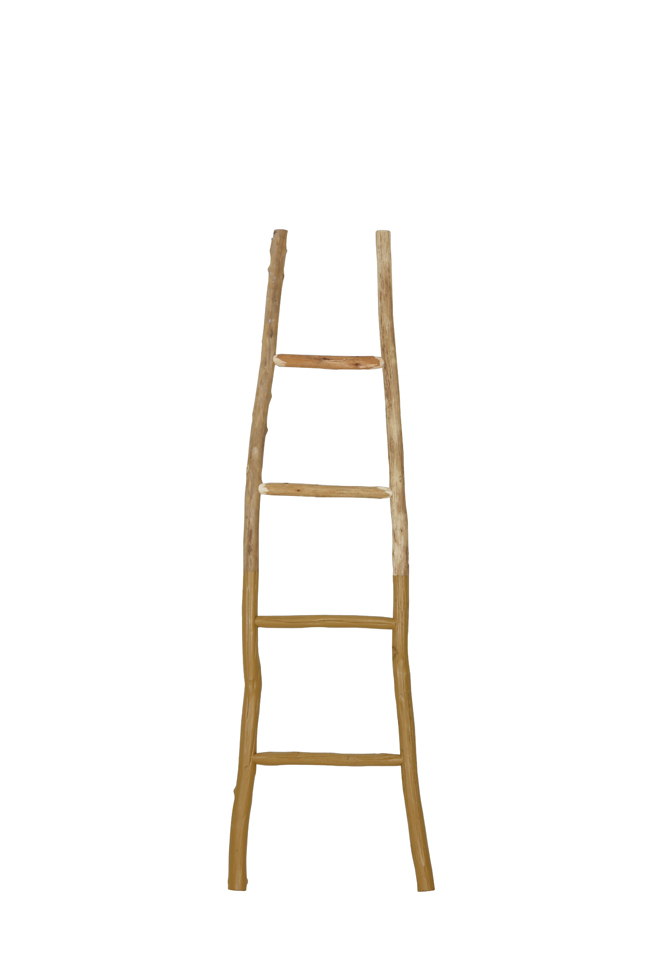 Light & Living Decoratie ladder 'Sten', geel
