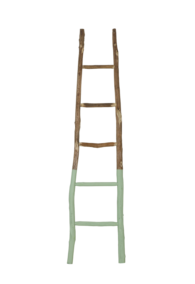 Light & Living Decoratie ladder 'Sten', groen