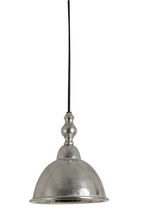 Light & Living Hanglamp 'Amelia S' 18cm, kleur ruw nikkel