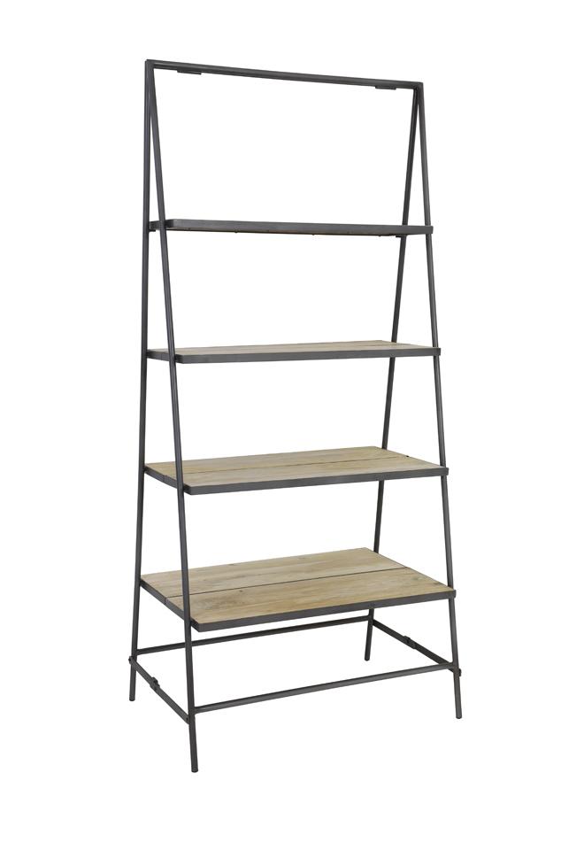 Light Living Decoratie Ladder Sten Geel