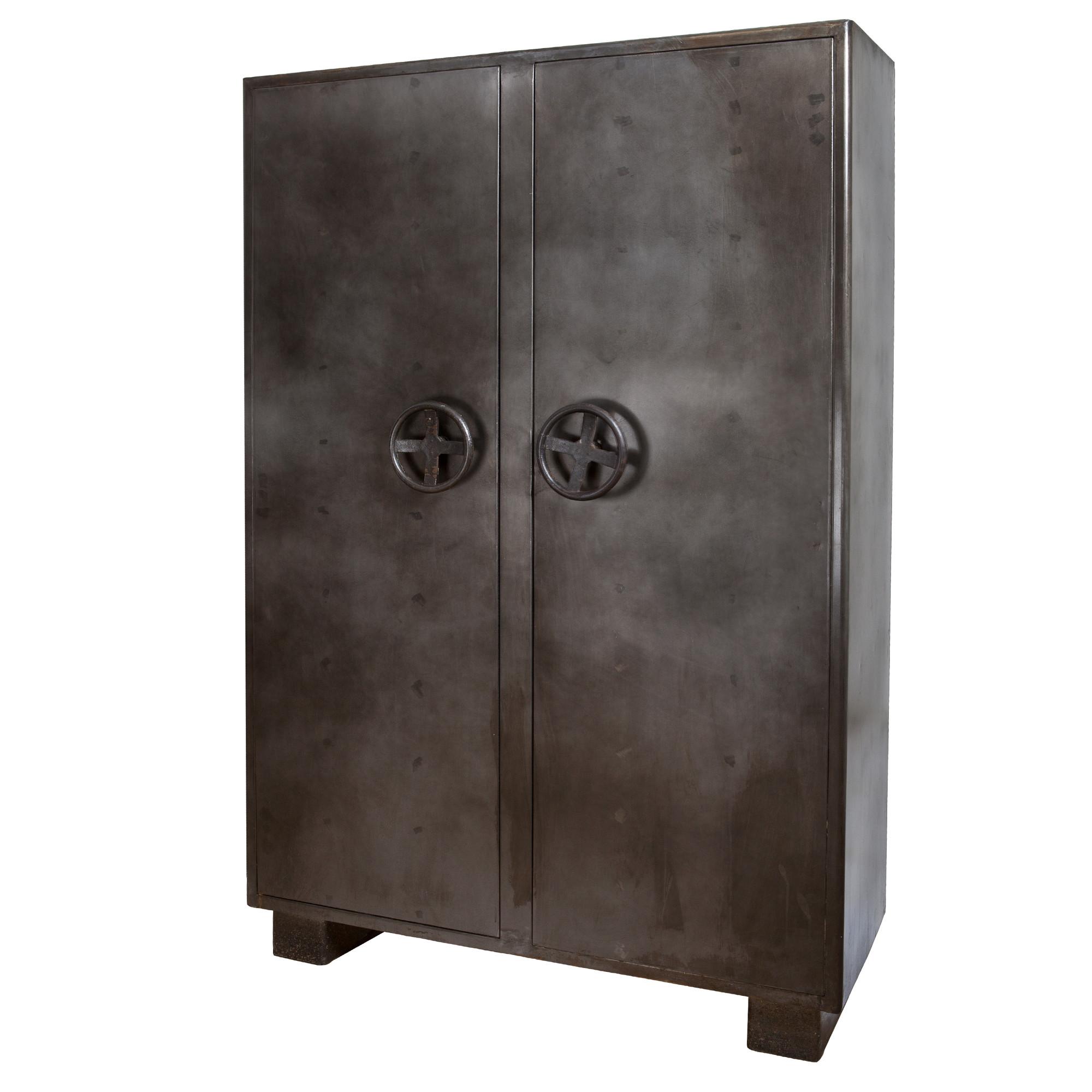 Opbergkast 'Eleonora Industrieel' kluis, met 2 deuren
