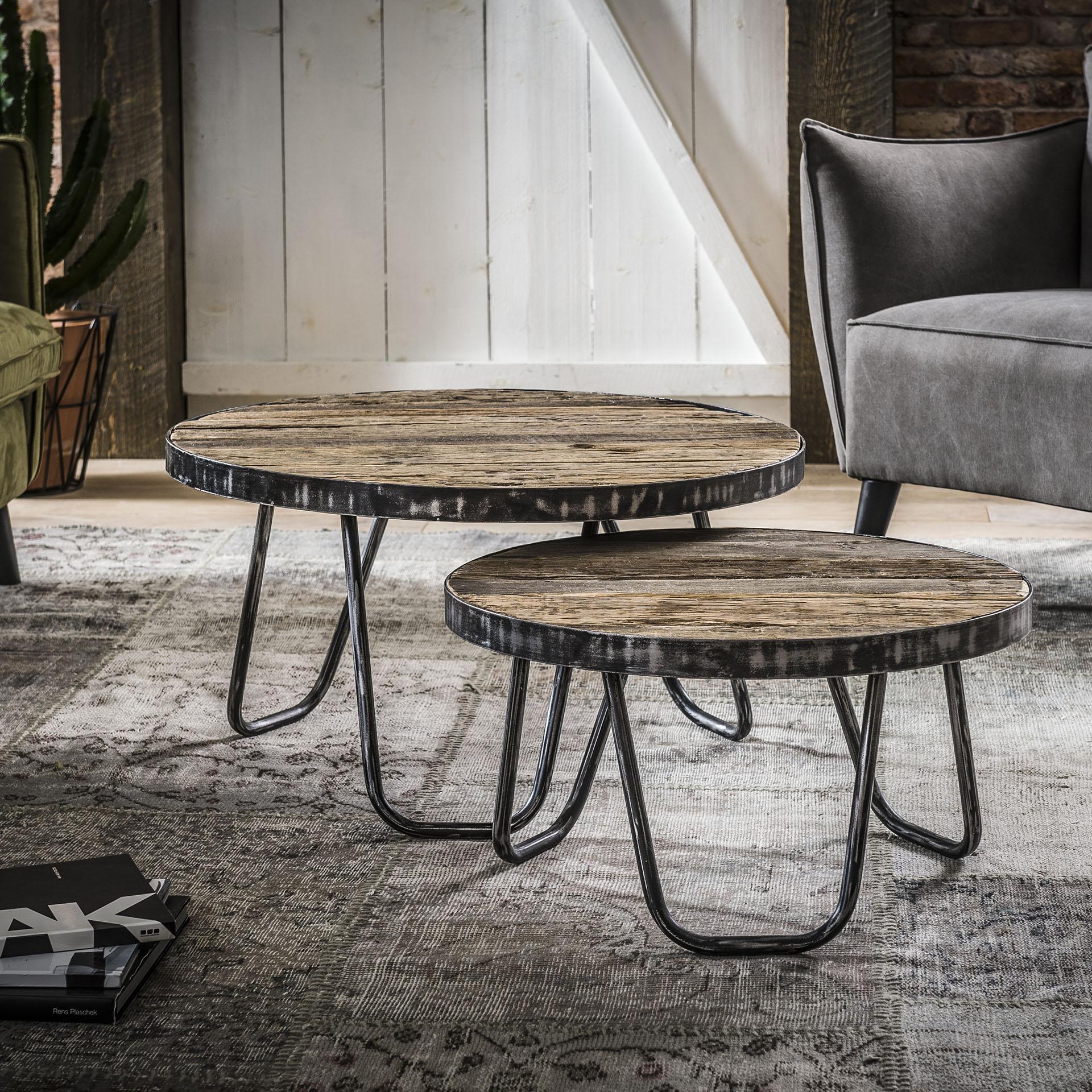 Uw partner in meubels: Salontafel 'Lesley' Set van 2 stuks Tafels | Salontafels
