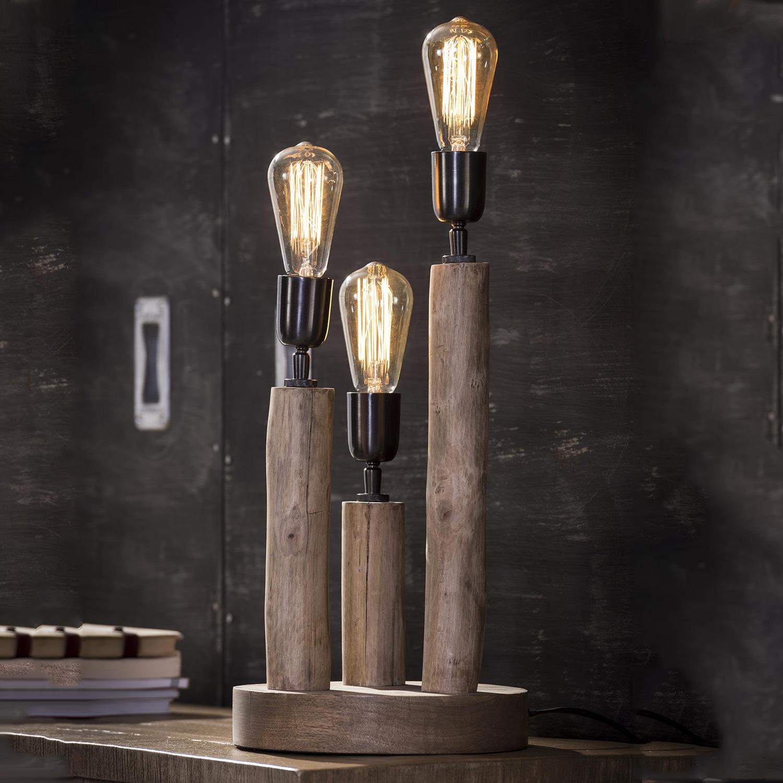 Tafellamp 'Nicolas' 3-lamps Verlichting | Tafellampen kopen