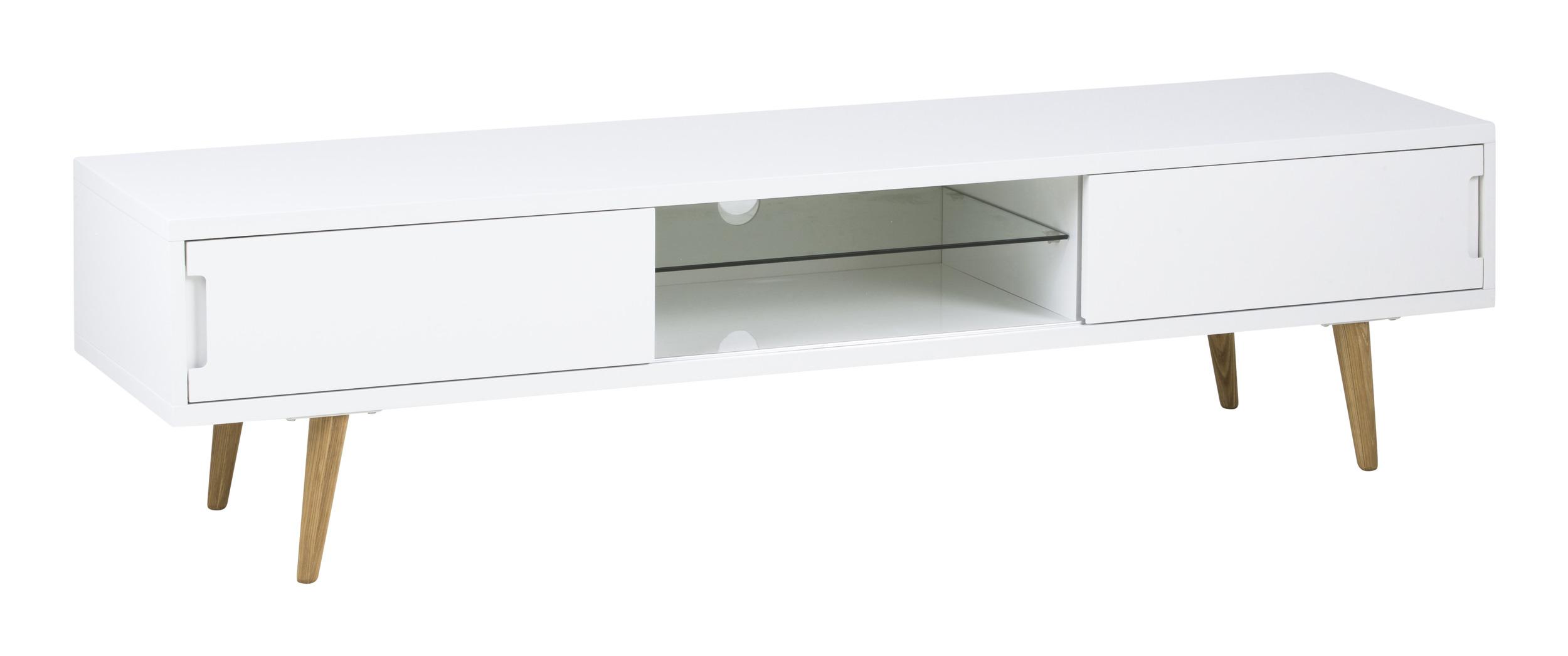 Bendt Tv-meubel 'Elina' 180cm, kleur wit vergelijken Bendt