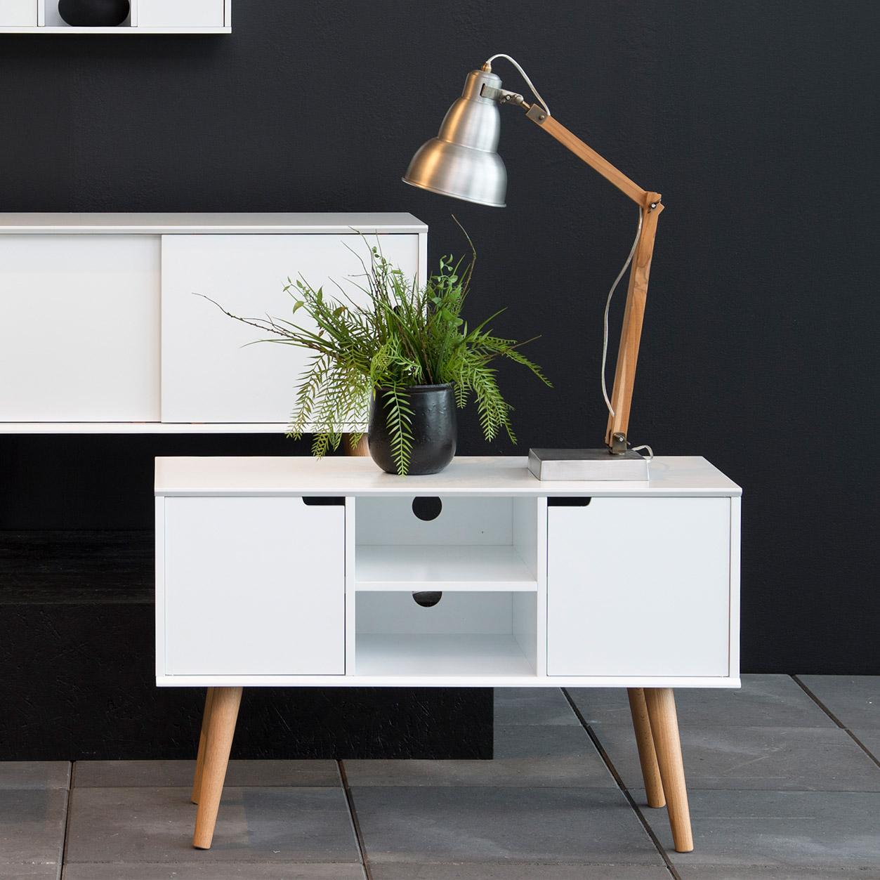 Bendt Tv-meubel 'Isaac' kleur wit vergelijken Bendt