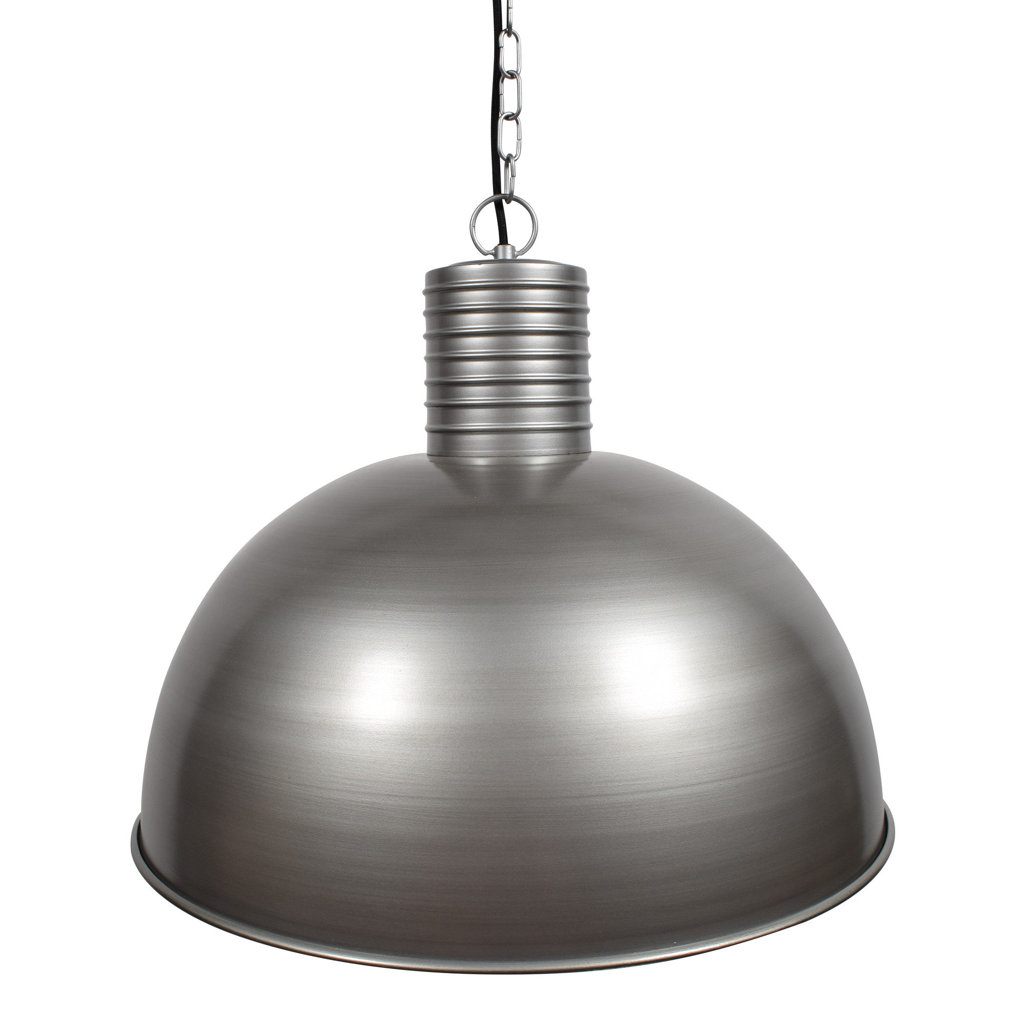 Root Catalog Urban Interiors Hanglamp 'Dome XL' 50cm, kleur zink