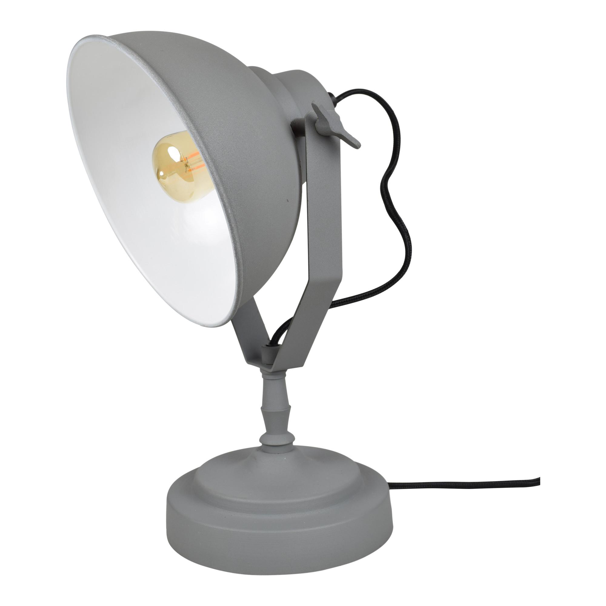 Urban Interiors Tafellamp 'Urban' kleur grijs korting