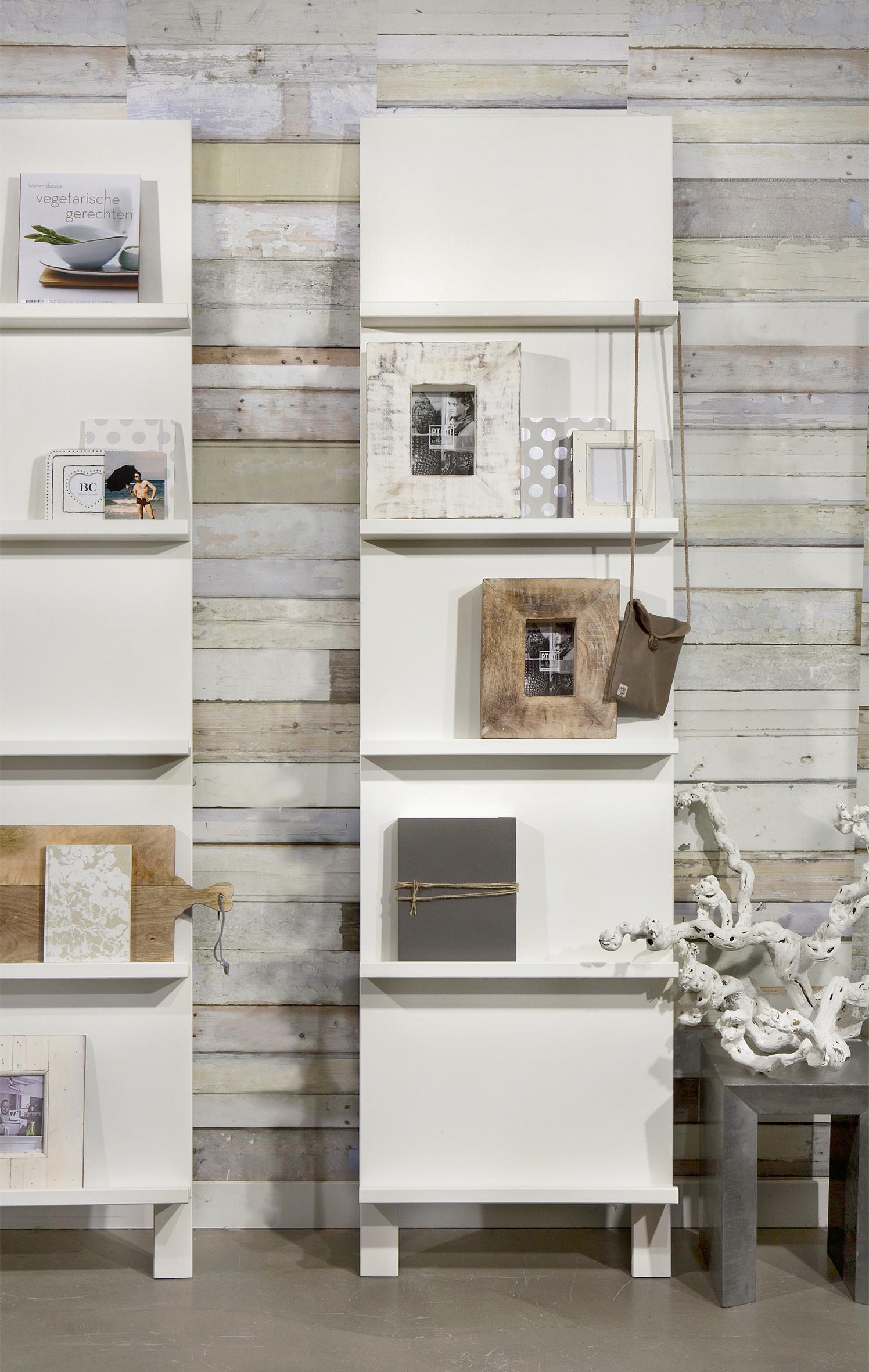 vtwonen Pronkrek Large, kleur Wit met voordeel snel in huis via Meubel Partner