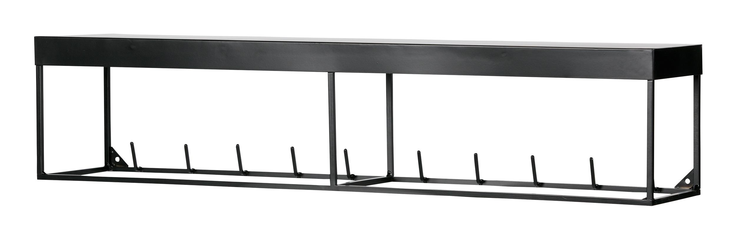 Woood Kapstok 'Meert' 90cm, kleur Zwart Woonaccessoires | Kapstokken kopen