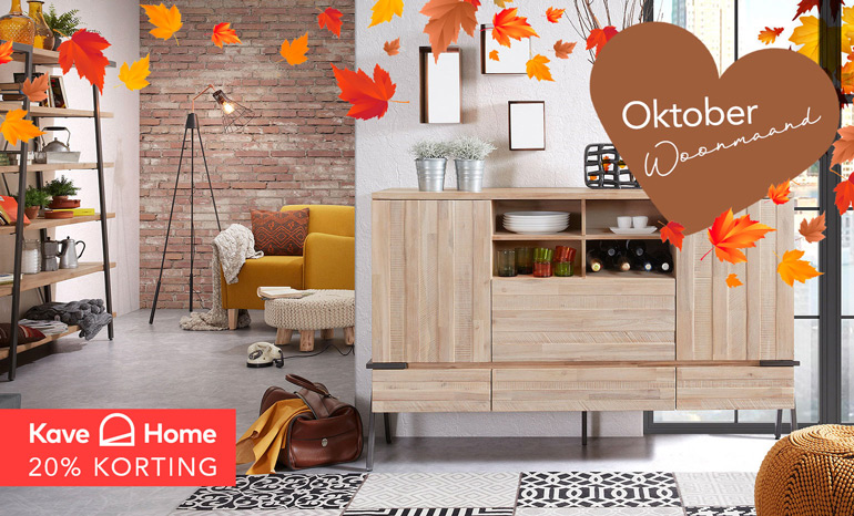 Oktober Woonmaand: Kave Home Sale