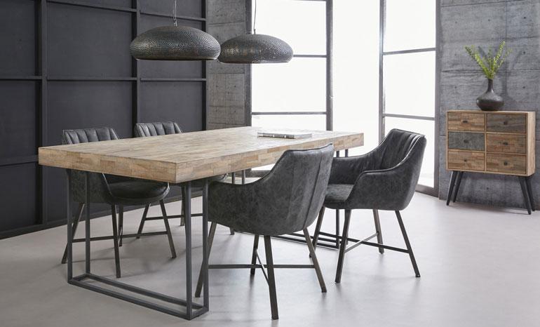 Welkom bij de leukste online woonwinkel meubelpartner - Eigentijdse eettafel ...